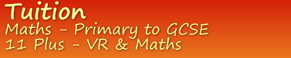 tuition in devon. Maths - primary and GCSE